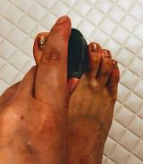 殺菌・ムレ臭を防ぐ✨薬用せっけんサラリト✨足の指の間も洗いやすいの画像(2枚目)