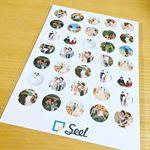 Seelのモニターの感想☺️❤️丸型の1番枚数が多いものにしてみました☺️とても薄くてどこにでも貼りやすいシールだと感じました☺️またいろんなところに貼って楽しみたいと思います☺️ #seel #se…のInstagram画像
