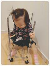 「乗り物に乗りたがるお年頃1歳♪」の画像(2枚目)