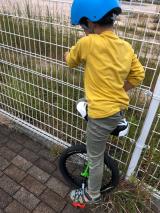 「あれから1か月。地道に練習中!ニンジャウィール(一輪車)で、忍者(エクストリーム)にトライ!」の画像(4枚目)