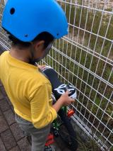 「あれから1か月。地道に練習中!ニンジャウィール(一輪車)で、忍者(エクストリーム)にトライ!」の画像(2枚目)