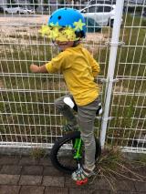 「あれから1か月。地道に練習中!ニンジャウィール(一輪車)で、忍者(エクストリーム)にトライ!」の画像(5枚目)