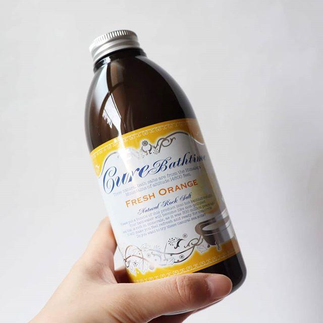 口コミ投稿:@cure__official株式会社Cure様Cureバスタイム フレッシュオレンジの香り ヒマラヤ岩…