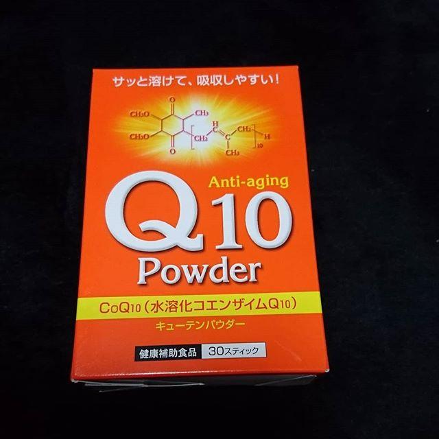 口コミ投稿:Q10パウダー♪若々しさを保つサプリメントと言われるのはコエンザイムQ10は60兆個もあ…
