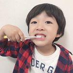 気に入り過ぎて黙々と磨いてる😂#お気に入り#次男#4歳#仕上げ磨き必須#笑#歯ブラシ #マイナスイオン #アイオニック #イオン歯ブラシ #monipla #ionic_fanのInstagram画像