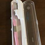 💋KISS YOU 💋UV除菌ケースセット 。KISS YOU の電動歯ブラシをしてからこちらの手磨きの歯ブラシを使っています。今までは平たい面の歯ブラシばかりを使っていたので…のInstagram画像