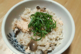 【まるごとキューブだし】秋鮭とキノコの炊き込みご飯を作ってみた!美味すぎワロタの画像(1枚目)