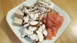 【まるごとキューブだし】秋鮭とキノコの炊き込みご飯を作ってみた!美味すぎワロタの画像(2枚目)