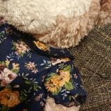 シェリーメイのクラシカルな花柄ワンピースの画像(2枚目)