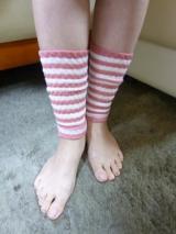 足の冷えにうれしい足首ウォーマー★『温むすび 健康足首ウォーマー(ボーダー)』の画像(6枚目)