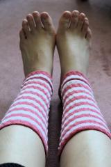「足首ポカポカで幸せ気分  健康足首ウォーマー」の画像(2枚目)