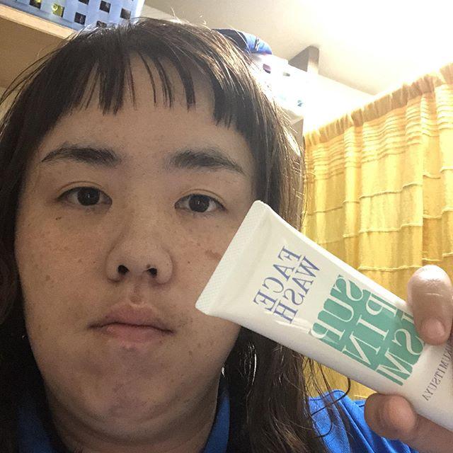 口コミ投稿:#醗酵コスメ #保湿 #洗顔 #すっぴんイズム #monipla #fukumituya_fanこちら、洗い上…