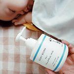 東原亜希さんのブログを読んでいてずっと気になっていたBABYBORN。上の子供は産まれてからアトピー性皮膚炎に悩まされているので、肌には優しいものをといつも気を付けています。高橋ミカさんと共同でこ…のInstagram画像