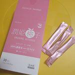 ..美肌目指し中🍑⁉️.すごく飲みやすいピーチ味の顆粒🍑..#潤姫桃子 #uruhimemomoko #飲むセラミド #セラミド #コラーゲン #スキンケア #女子力向上委…のInstagram画像