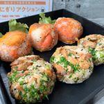 本日の #OnigiriAction 照り焼きチキンと小ネギのおにぎり、明太子と焦がしチーズのおにぎり#おにぎりアクション2019国連が制定した「世界食料デー10月16日」に合…のInstagram画像