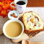 朝ごパン ♥#ごといもポタージュ。#ごちそうトースト寒い朝には温かいスープ。五島で育ったさつまいものやさしくて濃厚なごといもポタージュは、農薬不使用のごと芋を使用した無…のInstagram画像