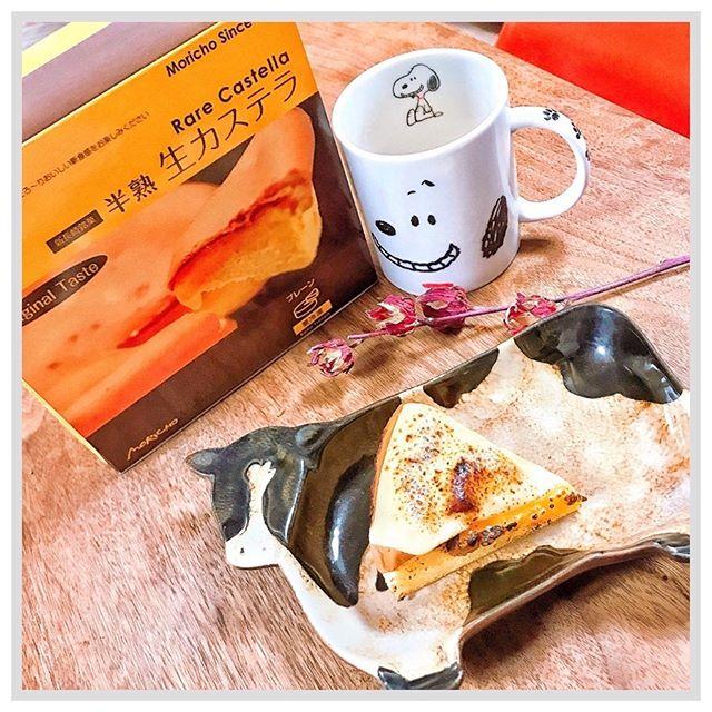 口コミ投稿:こんな時間に#おやつ Time( ´﹀` )#今日のおやつ #夜食 は#長崎#老舗 菓子舗菓…