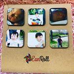 株式会社リアライズさまより、とっても素敵な商品のモニターをさせていただきました💚 手軽に思い出を形(缶バッジ・マグネット)にできるサービス 「CanRoll」 Instagram(インスタグラ…のInstagram画像
