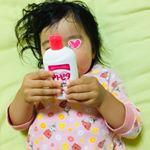 ちょいちょい肌荒れる娘👶色々試してやっぱりアトピタシリーズが一番しっくり肌に合う💕この冬も保湿はアトピタでいきます✌️#atopita #アトピタ #monipla #tampei_fanのInstagram画像