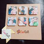 CanRollでマグネットを作りました♥️子供の写真のマグネット。可愛いマグネットが出来て満足です。写真はアルバムの中に入れるだけだと思ってたけど…マグネットが出来るのは嬉しいですね。…のInstagram画像