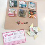 スマホから、インスタの写真から簡単に缶バッチが作れる「CanRoll」http://canroll.net/は、手軽に娘の誕生日のプレゼントが作れました!カーディガンに付けても、インテリア…のInstagram画像