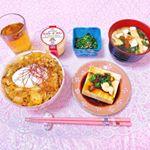 ♡ 今日の夜ごはん ♡ ㅤㅤㅤㅤㅤㅤㅤㅤㅤㅤㅤㅤㅤㅤㅤㅤㅤㅤㅤ❁豚キムチ丼❁冷奴❁お味噌汁❁ほうれん草の胡麻和え❁プリンㅤㅤㅤㅤㅤㅤㅤㅤㅤㅤㅤㅤㅤㅤㅤㅤㅤㅤㅤㅤㅤㅤ…のInstagram画像