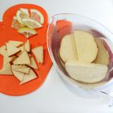 「*さつまいもとりんごのレモン煮*」の画像(3枚目)