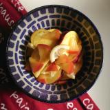 「*さつまいもとりんごのレモン煮*」の画像(1枚目)