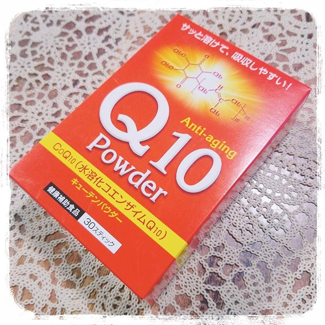 口コミ投稿:..『Q10パウダー』をモニターさせて頂きます♥️.若々しさを保つコエンザイムQ10サッと…