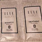 ELLEsalon SHAMPOO/TREATMENT(サンプルパウチ) 〈シャンプー〉透明のみずみずしいシャンプーです。髪の毛に馴染みかすくて、泡立ちがとてもよいです。 香りがと…のInstagram画像