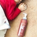 ..ハイスキンモイストジェル💧.史上初!ワセリンがジェルに🌟顔と体、全身保湿ケア💆♀️👏親子で使えるのが嬉しい🤱👦.ポンプ式なのでワンプッシュで使えるのと、伸…のInstagram画像