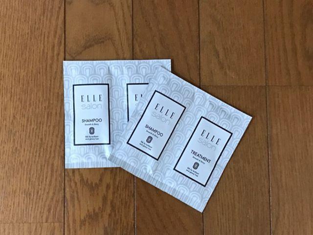 口コミ投稿:エルサロンサッシェ【2日分】シャンプー&トリートメント♡8種のオーガニック植物成…