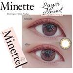 *・こちらは以前も紹介した @minette_official 様のカラコン💓カラーはレイヤーアーモンドです😘💫・-----*-----*商品説明*-----*-----・…のInstagram画像