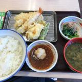 今日のお昼ご飯ご飯はさん天の画像(2枚目)