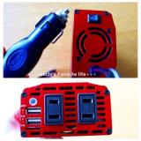 「ACコンセント×2&USB×2ポート! 搭載車載充電器 BESTEK カーインバーターが便利です♪」の画像(4枚目)