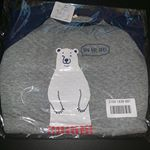 通販でお馴染みnissenさまのキッズあったかニットキルトパジャマ お試しさせていただきました!サイズは100です。クマの柄が可愛い🧸キルトなので素材も柔らかく暖かそうです♡…のInstagram画像