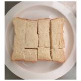 """""""オリゴのおかげ""""で簡単イチゴソース♡食パンスィーツを作ってみた!の画像(4枚目)"""
