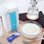 .@kefirfan.ロイヤルユキのケフィアヨーグルト スターターセットを使用してみました💗.ケフィアヨーグルト スターターセットは牛乳に「たね菌」を入れて24時間置くだけで簡単に…のInstagram画像