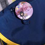 カバンに#みんなのバッジ #缶バッジ #缶バッジ作り #マグネット #DIY #ハロウィーン #ハロウィンコスプレ #ハロウィン #monipla #cms_fanのInstagram画像