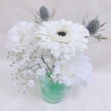 「結婚式のお花を飾る★カラーエコゼリー」の画像(1枚目)