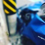 事故して😭改めてドライブレコーダーの大切さを感じました🙏✨・次の車にも絶対に取り付けします❗️ #FINEVU #X500 #ドライブレコーダー #FINEVUイベント #Seibii #mo…のInstagram画像