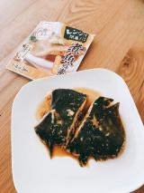 「マルトモ お魚まる・煮魚の素でレンジで簡単煮魚♪」の画像(2枚目)