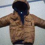 ニッセン様の 裏フリース中綿ジャケット を頂きました😸 サイズ90の2歳娘へ❤男女兼用なのでどっちでも着れるのもありがたいです😁 モコモコしてないのにあったかい💛1つ残念なのが来年も着せたいの…のInstagram画像