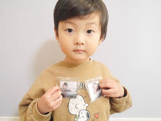 口コミ投稿:⑅︎◡̈︎*@seel.jp 様よりキーホルダーを作成していただきました♡・お気に入りの写真で…