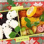 ....今日のお弁当🍱.にょろにょろちゃんで.#OnigiriAction ..にょろにょろちゃんたちの下には.舞昆のこうはら様より.モニタープレゼントしていただいた…のInstagram画像