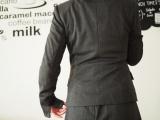 【ニッセン】ストレッチ製が魅力♪洗濯機で洗えるスーツ&裏地こっそりあったかブラウスの画像(5枚目)