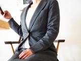 【ニッセン】ストレッチ製が魅力♪洗濯機で洗えるスーツ&裏地こっそりあったかブラウスの画像(10枚目)
