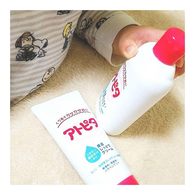 口コミ投稿:❄️☃️寒い冬でも乾燥知らずの強い味方アトピタ 肌ケアシリーズ.◆保湿全身ミルキィロー…