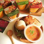 。❁野菜をMOTTO!!約1分温めるだけで本格的なスープを簡単に楽しめる「レンジカップスープ」厳選された国産のこだわり野菜がたっぷり♪.『さやかじゃがいもと5種野菜のポトフ風ス…のInstagram画像