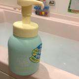 「無添加 泡ボディソープで子供と楽しいお風呂✨の巻」の画像(1枚目)